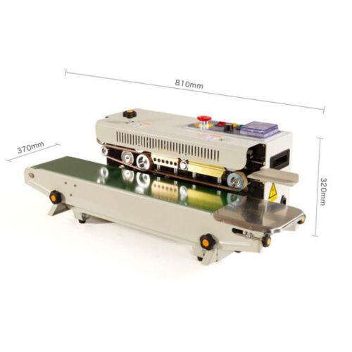 FR-770 Plastiktüte Siegelgerät Automatische Kontinuierlich Sealer Maschine DHL