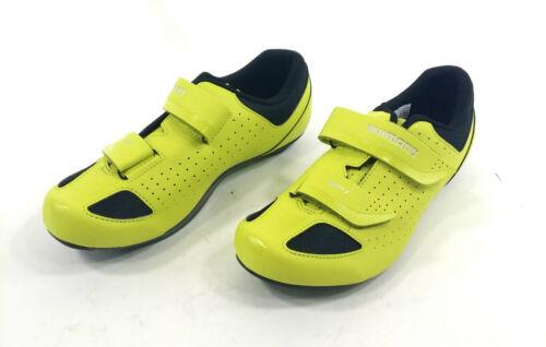 Yellow US 9.7 Shimano SH-RP1 Road Bike Shoes 44