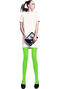 Women-039-s-Ladies-100-Denier-Thick-Opaque-Colourful-Winter-Warm-Tights