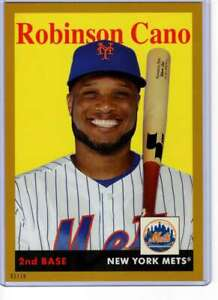 Robinson-Cano-2019-Topps-Archives-5x7-Gold-30-10-Mets
