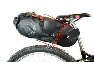 Revelate Designs - Sac de siège Terrapin System, 14 L, noir