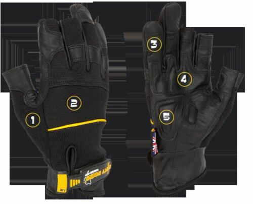 Dirty Rigger Leather Framer Rigger Gloves PRICE REDUCTION!!!
