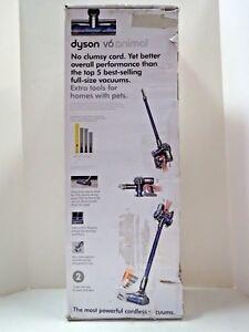 Dyson V6 Animal Cord Free Stick Vacuum Nickel Purple