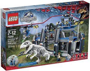 LEGO-Jurassic-World-Dinosaur-75919-Indominus-rex-Breakout-Pack-Set-1156pcs