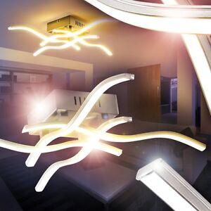 Details zu LED Design Deckenleuchte Küchen Strahler Flur Deckenlampen Wohn  Zimmer Leuchten