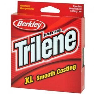 Berkley Trilene XL Fishing Line - 330 Yd Spool Clear 6 lb - Great Line NEW!