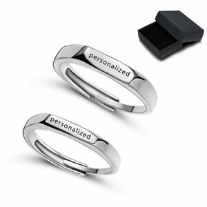 2PCS-Personalized-Stainless-Steel-Women-Men-Couples-Custom-Name-Letters-Rings