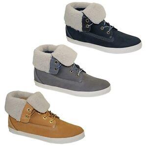 Timberland-EK-Glastenbury-Fleece-6-Iich-Boots-Stiefeletten-Damen-Schuhe-Stiefel