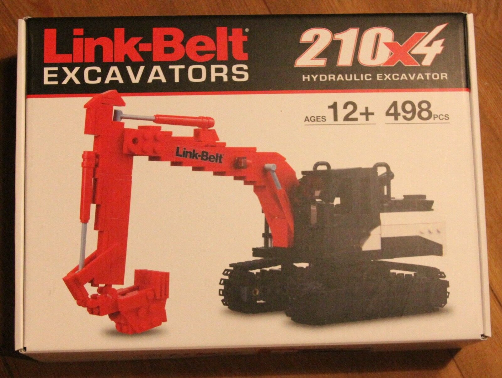 Lego link-Belt 210x4 excavators Certified Professional Limited Edition