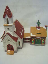 "Dept 56 Snow Village ""Good Shepherd Chapel and Church School"" #5424-0 GUC"