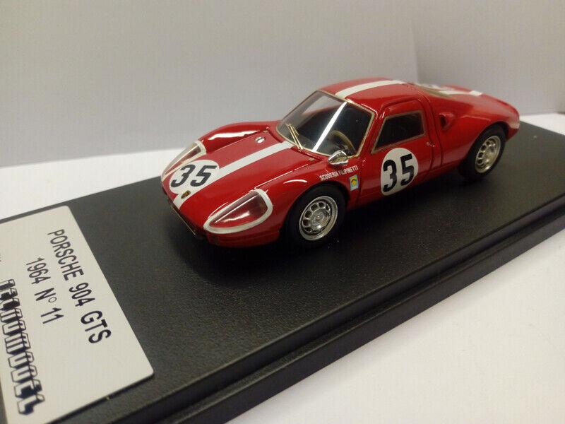 TCN11C1 Porsche 904 GTS  35 rot-Weiß Stripes