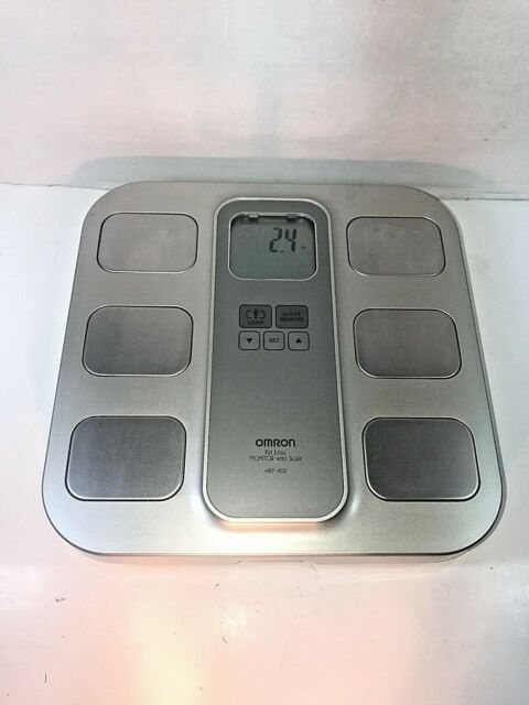 Scale and Body Fat Monitor - Omron HBF-400 - Weight Loss Monitor