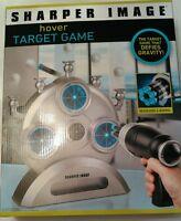 Sharper Image Hover Target Game 6 Barrel Blaster 5 Floating Safe Indoor Gun