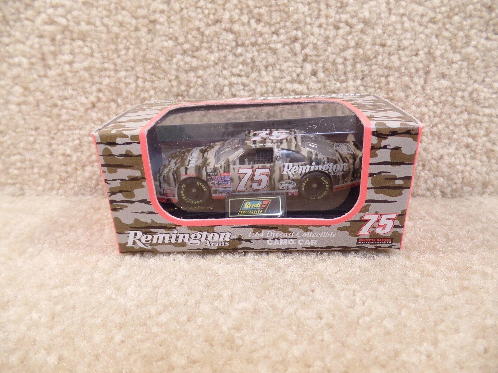 New 1996 Revell 1 64 64 64 Diecast NASCAR Morgan Shepherd Remington Camo Ford da652f
