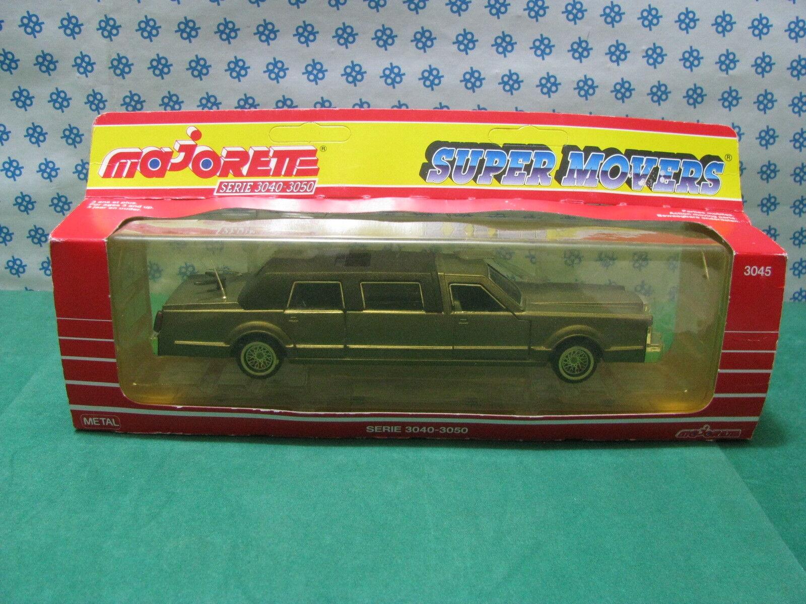 Vintage-limusina G - 1 32 Autos Majorette Super Movers Serie Ref.3045