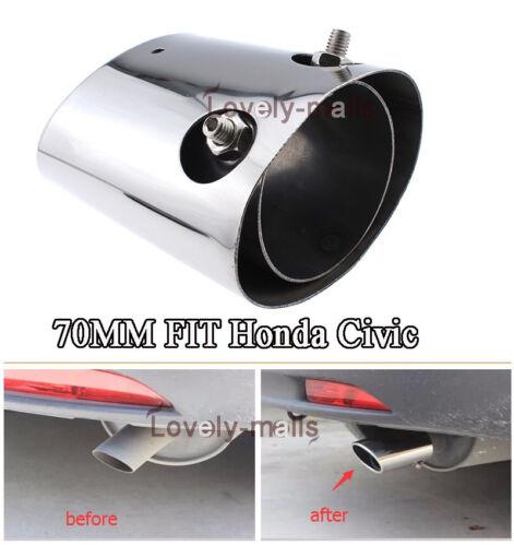 1PC Exhaust Muffler Tip Pipes Fit For Honda CR-V 2003-2009 2010 2011 2012 2013