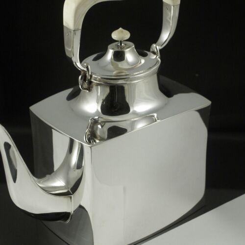 Karl Gustav Hansen Sterling Silver Tea Pot #454.
