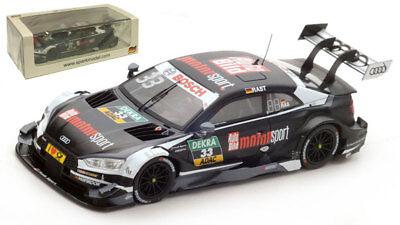 Spark sg120 Audi Rs5 # 23 Dtm 2013-timo Scheider 1//43 Escala