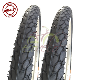 2 CAMERA D/'ARIA 20 X 1.90 47-406 2 COPERTONI NERI BICI MTB MOUNTAIN BIKE