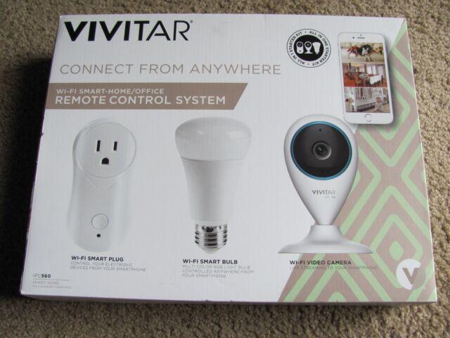 s l640 vivitar ipc560 wi fi smart home automation starter kit ebay