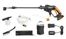 WORX WG629E.8 Hydroshot 18V Cordless Pressure Cleaner Kit with Bottle Adaptor