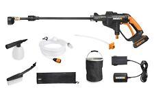 WORX WG629E.8 Hydroshot 18V Cordless Pressure Cleaner Kit with Bottle Adaptor