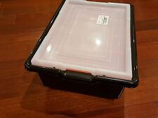 LOT 5 x Lego storage box case bin for NXT EV3 Mindstorms technic pieces parts