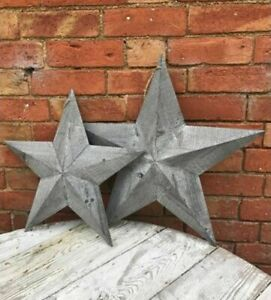 Grey-Washed-Rustic-Shabby-Chic-Wooden-Amish-Barn-Lucky-Star-Large-Medium-Small