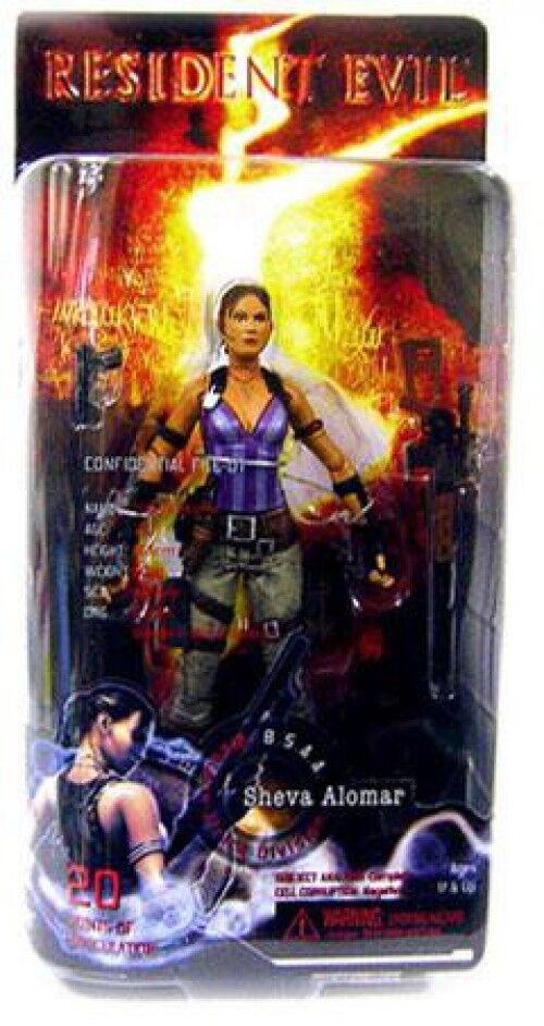 NECA Resident Evil 5 Sheva Alomar Action Figure