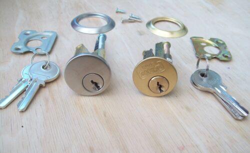 Brass or Chrome Replacement Rim Cylinder Door Night Latch Lock Nightlatch