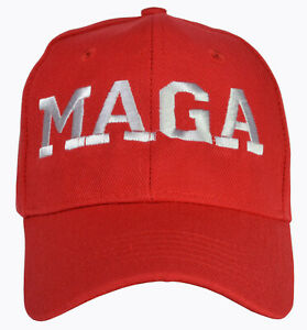 Adjustable Donald Trump Make America Great Again Red hat Embroidered