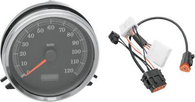 Drag Specialties MPH speedo speedometer /& harness for 96-98 Harley Softail FLSTN