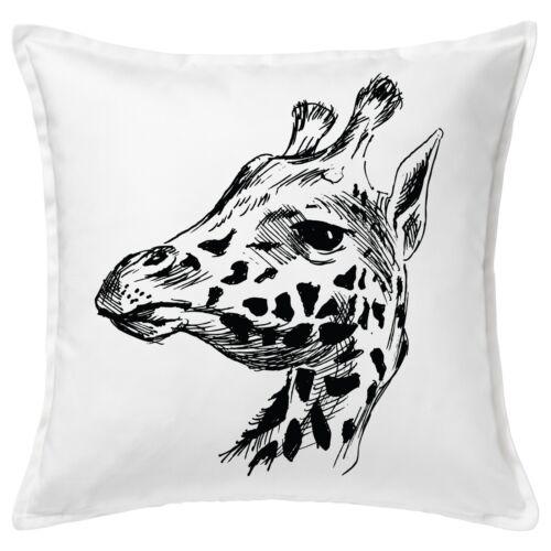 "Giraffe Head Drawing Art Decorative Pillow Cushion Cover Case Home Gift 20/"""