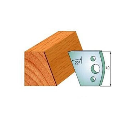 Broche Mouleur Cutters couteaux et de Powerspark 40 mm-Profil 001 COUTEAUX /& Li