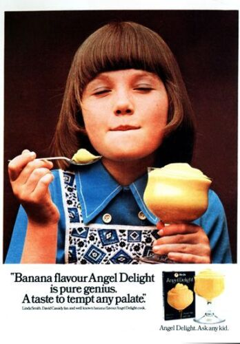 Vintage 1970s Angel Delight Advertisement Poster A3 Print