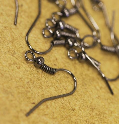 Fish/Ear Hooks Nickel Free Choice of Colours-pk100