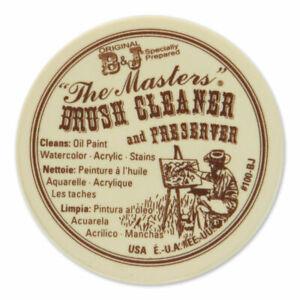 Bru300100bj 1oz Original B&j The Masters Paint Brush Cleaner & Preserver
