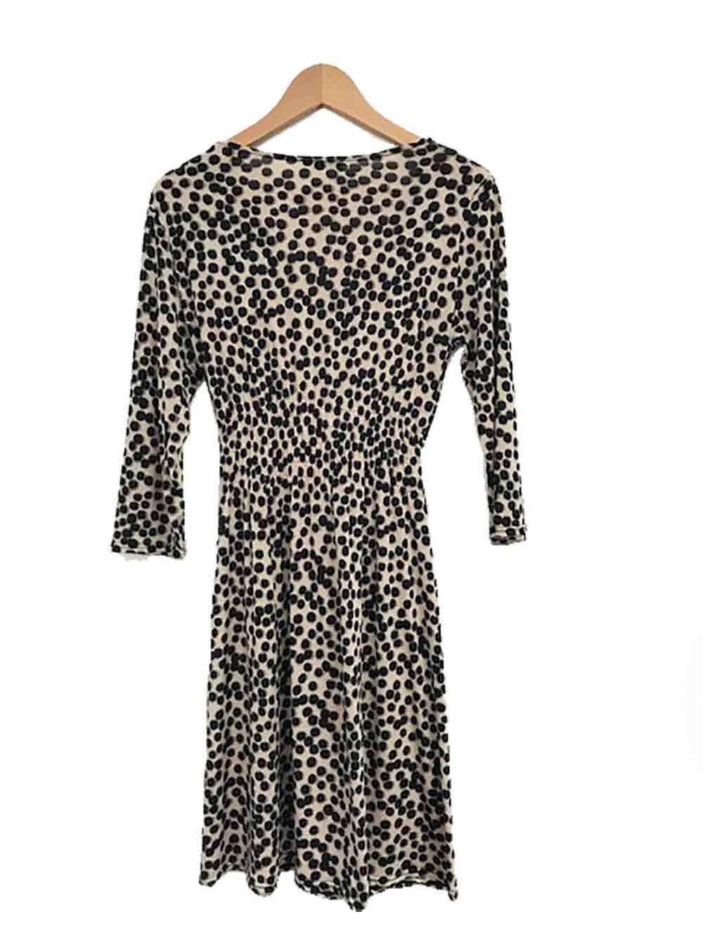 Designer Egerie Paris VTG Size 10 to to to 12 AU Animal Print Perfect Women's Dress 05c458