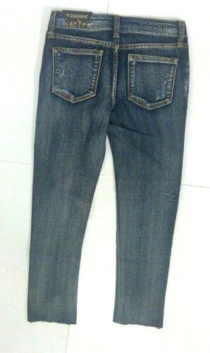Tween Girls Size 8,10,12 Jeans VIGOSS Skinny STRETCH Jeans Adjustable Waist NEW