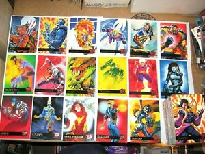 1995-Fleer-Ultra-X-Men-BASE-150-CARD-Set-WOLVERINE-SPRING-BREAK-MARVEL