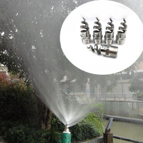"""1//4/"""" 3//8/"""" 1//2/"""" Edelstahl Spirale Taper Kegel Nebeldüse Sprühdüse Sprinkler Kopf"""
