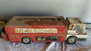 Image Is Loading Vintage 1960s Toys Texaco Jet Fuel Truck By