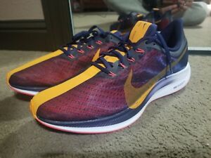 promo code 8e3b7 1a4d8 Details about Men's Nike Pegasus 35 Turbo Running Blackened Blue/Orange  Peel/Flash AJ4114 486
