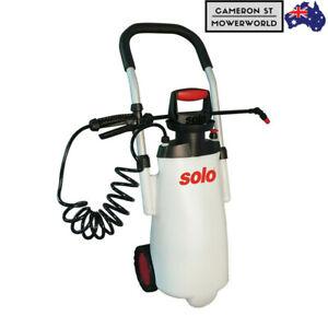 Solo-453-11-Litre-Garden-Trolley-Sprayer-Large-Pump-Adjustable-Nozzle