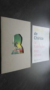 Brochure Giorgio Di Chirico La Fabbrica Delle Sogni 2009 Museo Di Francia