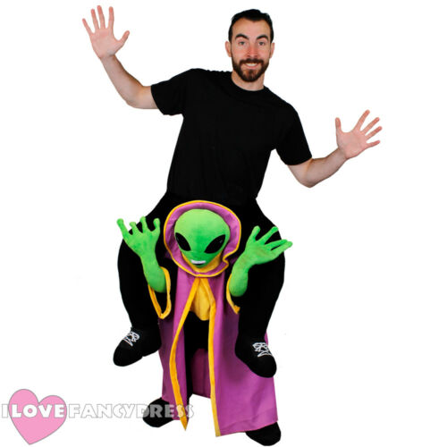 ALIEN LORD PICK ME UP HALLOWEEN COSTUME FUNNY NOVELTY STAG FANCY DRESS RIDE ON