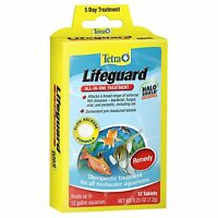 Tetra Lifeguard Tabs 12 Tablets All In One Treatment Halo Shield Remedy Freeship