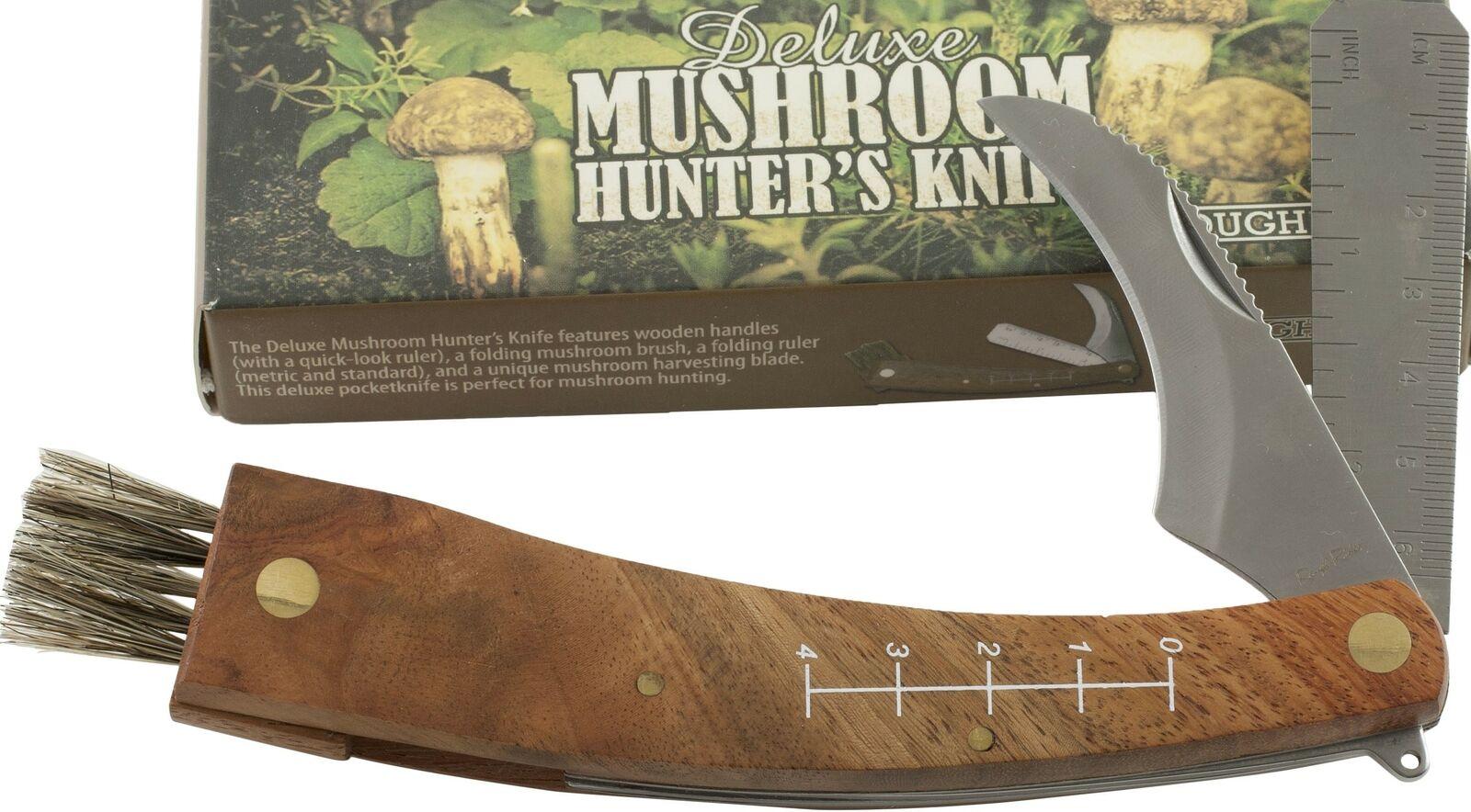 Iris Hantverk Birch Wood Wooden /& Horsehair Mushroom Fungi Cleaning Brush