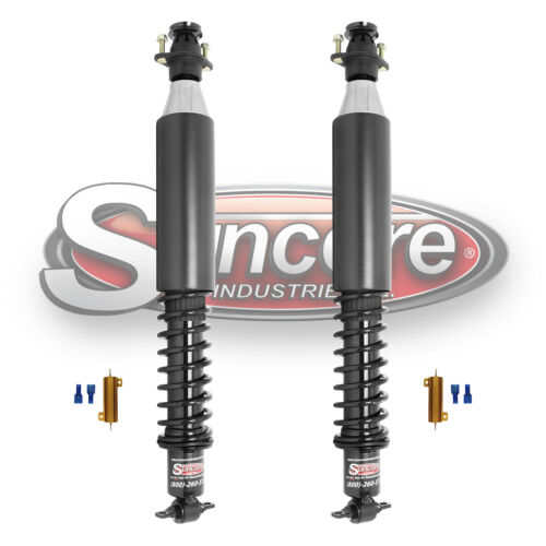 2001-2003 Oldsmobile Aurora  Rear Electronic Suspension to Heavy Duty Gas Shocks