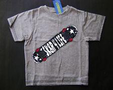 GYMBOREE Skate Legend Gray Cotton Sk8r 4 Life Tee T-shirt Boys 3 NEW